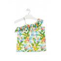 Losan Camiseta de tirantes con estampado tropical